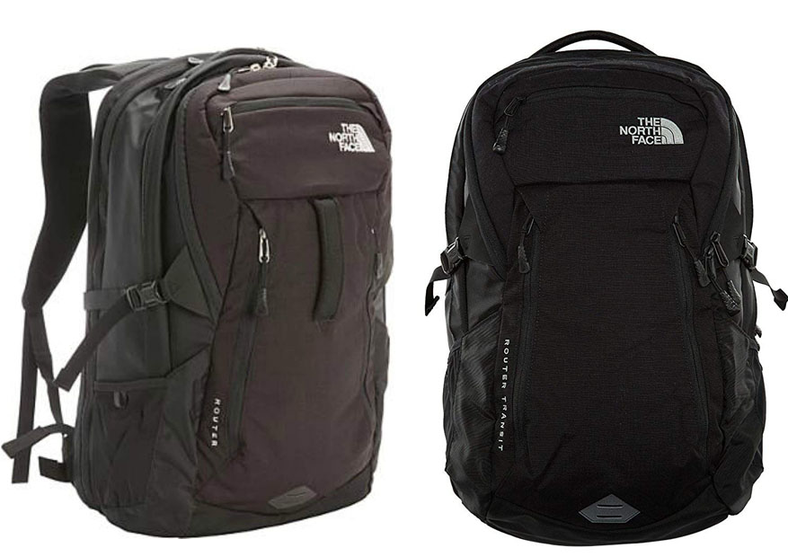 094ef9a44 North Face Router vs Router Transit | Thebagss.com